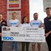 ASO y el Dakar donaron U$S 112.000 a la organización solidaria TECHO