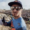 """Taddy Blasuziak: """"Quiero ser campeón mundial de los clásicos WESS del enduro"""""""